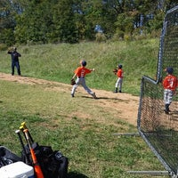 Photo taken at Odell Sports--Baseball Fields by Nicole L. on 10/18/2014