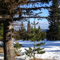 Photo taken at Cooper Spur by Steve S. on 3/3/2013