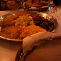 Photo taken at New Eritrea Restaurant & Bar by Thaisa F. on 2/14/2015