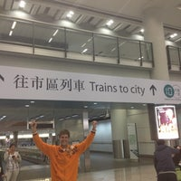 Photo taken at MTR Airport Station 機場站 by Igor M. on 1/19/2013