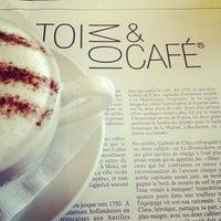 Photo taken at Toi, Moi & Café by maria s. on 10/21/2012