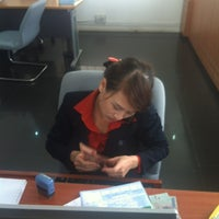 Photo taken at Sacombank PGD PXL by Tony D. on 11/1/2012