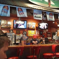 Photo taken at Bubba Gump Shrimp Co. by Kirsten S. on 9/22/2012