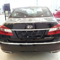 Photo taken at Hyundai Caoa by Adriana T. on 11/29/2012