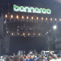 Photo taken at What Stage at Bonnaroo Music & Arts Festival by rob h. on 6/15/2014