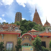 Photo taken at Wat Tham Kao Noi by Bestby B. on 8/18/2015