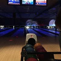 Photo taken at Go Planet Bowling by Linda S. on 8/4/2015