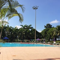 Photo taken at Orchid Country Club Swimming Pool by Shirley Y. on 3/23/2014