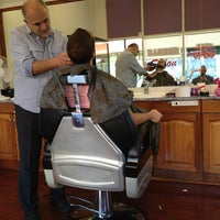 Photo taken at Barber Saloon by Leo W. on 4/5/2013