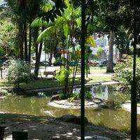 Photo taken at Praça Batista Campos by Yury C. on 11/4/2012