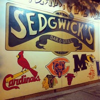 Photo taken at Sedgwick's Bar & Grill by Jordan S. on 10/10/2013