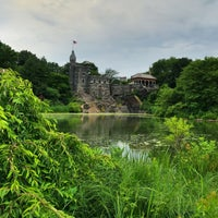 Photo taken at Central Park – Turtle Pond by Jared M. on 6/27/2016