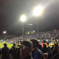 Photo taken at Buck Shaw Stadium by Connor H. on 11/8/2012