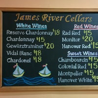 Photo taken at James River Cellars Winery by Sam (@HandstandSam) E. on 9/13/2014