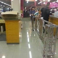 Photo taken at Jarir Bookstore by deana m. on 12/14/2012