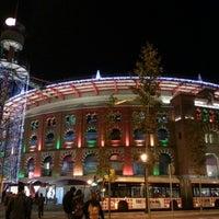 Photo taken at Arenas de Barcelona by Fernando B. on 12/21/2012