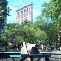 Photo taken at Madison Square Park by jose b. on 8/5/2013