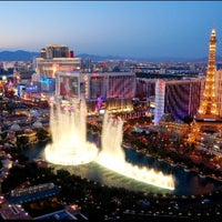 Photo taken at Fountains of Bellagio by ✈✈ Mhmtali. ✈✈ on 6/1/2013
