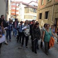 Photo taken at Colegiata de Pravia by A Z. on 10/4/2012