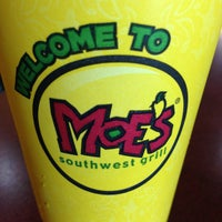 Photo taken at Moe's Southwest Grill by Darko A. on 4/26/2013