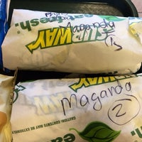 Photo taken at SUBWAY by Catherine M. on 3/25/2014