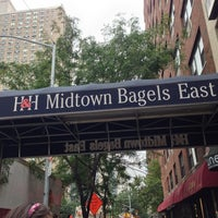 Photo taken at H&H Midtown Bagels East by Matthew L. on 8/9/2013