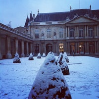 Photo taken at Archives Nationales by Charles D. on 1/19/2013