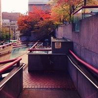 Photo taken at Theater Square by Andrew E. on 10/11/2013