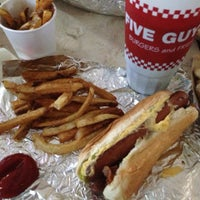 Photo taken at Five Guys by Breanna S. on 5/9/2013