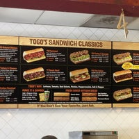 Photo taken at TOGO'S Sandwiches by Mike n Joi on 3/26/2013