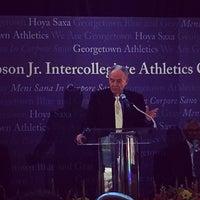 Photo taken at McDonough Gymnasium, Georgetown University by Thomas W. on 9/12/2014