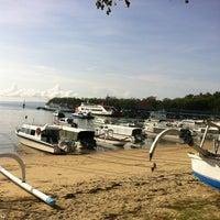 Photo taken at Pelabuhan Padang Bai by JeFRèé™ on 12/4/2012