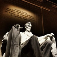 Photo taken at Lincoln Memorial by Daniel S. on 7/24/2013