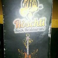Photo taken at Röschti Rock Restaurant by sidney a. on 11/9/2012