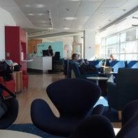 Photo taken at Scandinavian Airlines (SAS) Lounge by Margaret B. on 2/17/2013