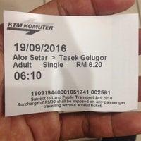 Photo taken at Stesen KTM Alor Star by Izat H. on 9/18/2016