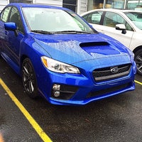Photo taken at Grand Prix Subaru by George G. on 12/22/2015