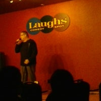 Photo taken at Laughs Comedy Spot by David K. on 11/11/2012