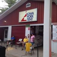 Photo taken at Iowa Pork Tent by Benjamin B. on 8/16/2014