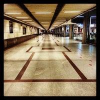 Photo taken at Kashmere Gate Metro Station by Schmmuck on 9/28/2013