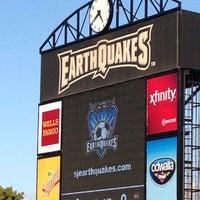 Photo taken at Buck Shaw Stadium by Karen A. on 5/4/2013