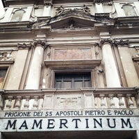 Photo taken at Carcere Mamertino by Rafael P. on 5/1/2013