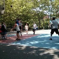 Photo taken at Sara Delano Roosevelt Park Playground by Nicolas on 6/9/2013