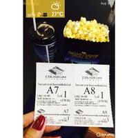 Photo taken at Coliseum Paradise Cineplex Phuket by Arina K. on 8/20/2014