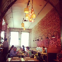 Photo taken at AQ Restaurant & Bar by Sarah L. on 5/3/2013