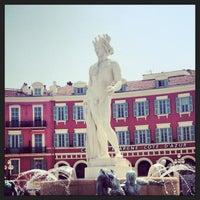 Photo taken at La Fontaine du Soleil by Alexey S. on 5/2/2013