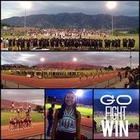 Photo taken at Northridge High School by Ashley L. on 8/24/2013