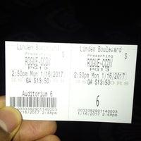 Photo taken at Linden Boulevard Multiplex Cinemas by Mitchell L. on 1/16/2017