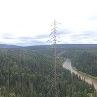 Photo taken at Усьвинские столбы by nastya p. on 7/26/2014