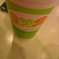 Photo taken at Boost Juice Bars by Aman R. on 3/21/2015